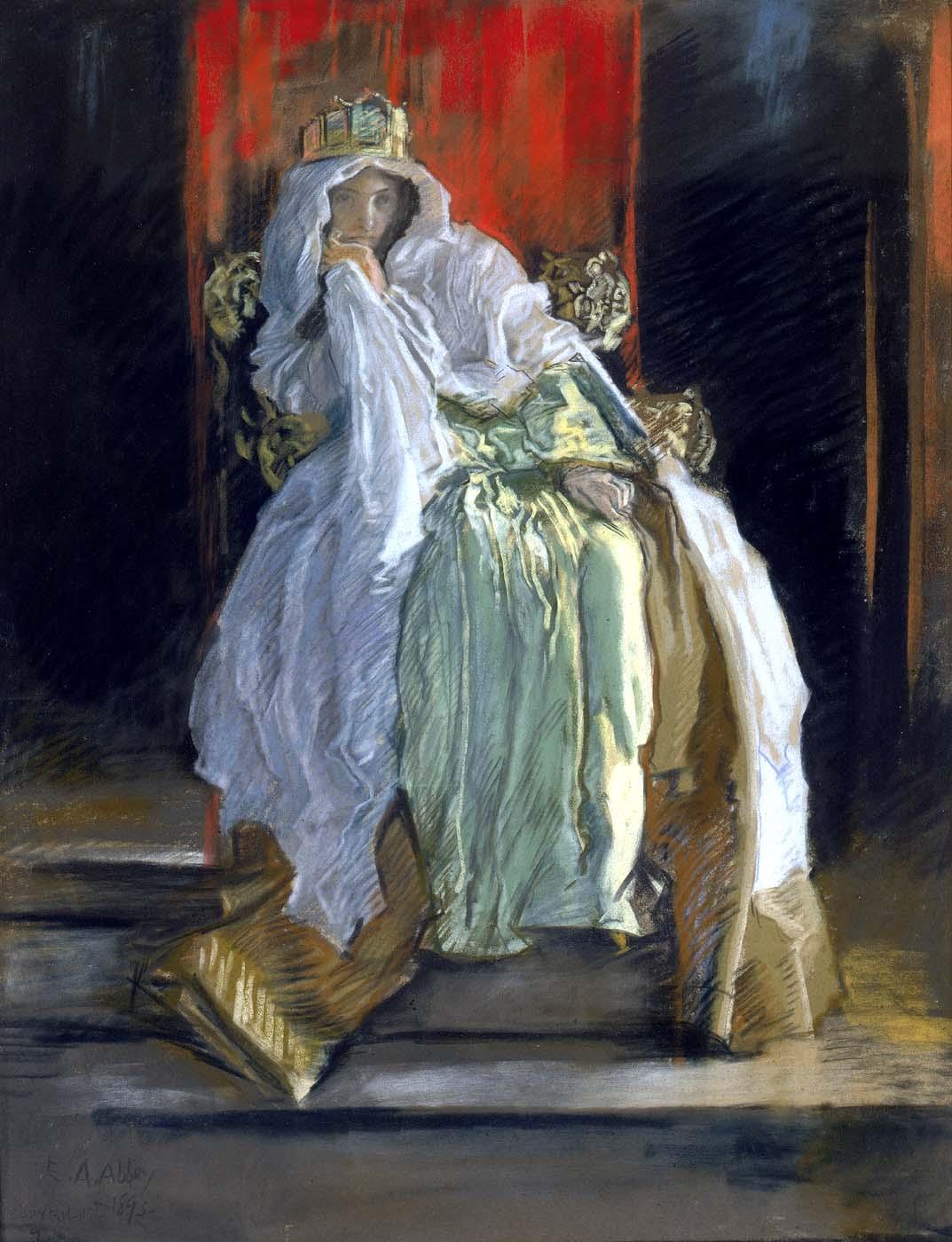 Hamlet Queen painting