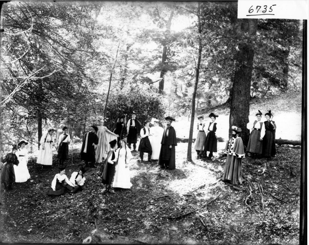 As you like it 1905 Scene_from_production