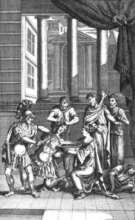 Titus Andronicus Nicholas Rowe Illustration Sacrifice