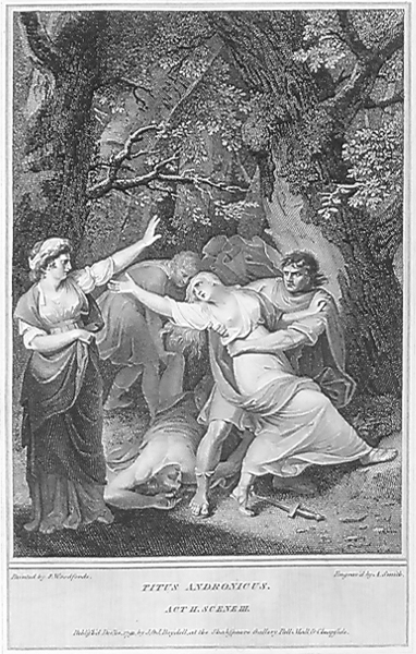 Titus Andronicus Lavinia is carried off